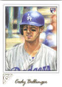 2017 Topps Gallery #143 Cody Bellinger NM-MT RC Dodgers