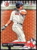 2017 Bowman Draft #BD-31 Brett Netzer Boston Red Sox