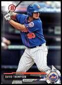 2017 Bowman Draft #BD-146 David Thompson New York Mets