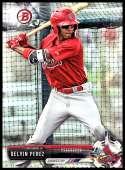 2017 Bowman Draft #BD-147 Delvin Perez St. Louis Cardinals
