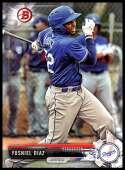 2017 Bowman Draft #BD-151 Yusniel Diaz Los Angeles Dodgers