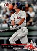 2017 Bowman Draft #BD-155 Bobby Dalbec Boston Red Sox