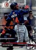 2017 Bowman Draft #BD-160 Kevin Maitan Atlanta Braves