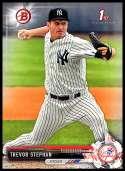 2017 Bowman Draft #BD-167 Trevor Stephan New York Yankees