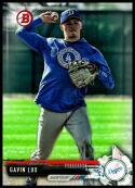 2017 Bowman Draft #BD-171 Gavin Lux Los Angeles Dodgers