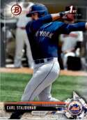 2017 Bowman Draft #BD-179 Carl Stajduhar New York Mets