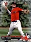 2017 Bowman Draft #BD-193 Cole Brannen Boston Red Sox