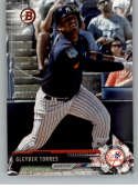 2017 Bowman Draft #BD-200 Gleyber Torres New York Yankees