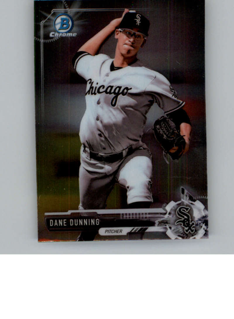 2017 Bowman Chrome Factory Set Mini #BCP35 Dane Dunning Chicago White Sox