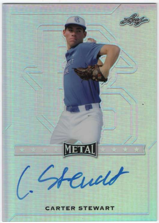 2017 Leaf Metal Perfect Game All-American Prismatic Autographs