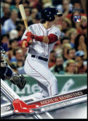 2017 Topps #283 Andrew Benintendi RC Rookie Red Sox NM-MT