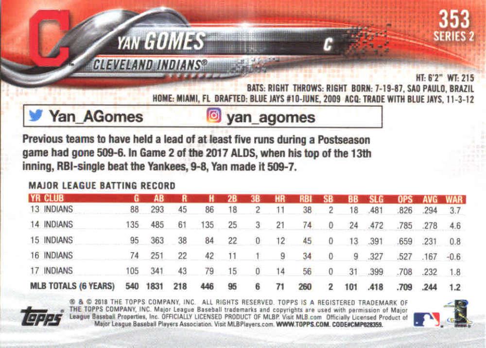 2018-Topps-Series-2-Baseball-Base-Singles-351-550-Pick-Your-Cards thumbnail 5
