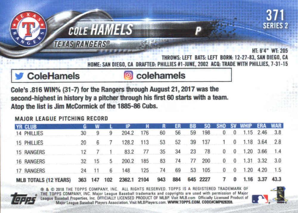 2018-Topps-Series-2-Baseball-Base-Singles-351-550-Pick-Your-Cards thumbnail 41