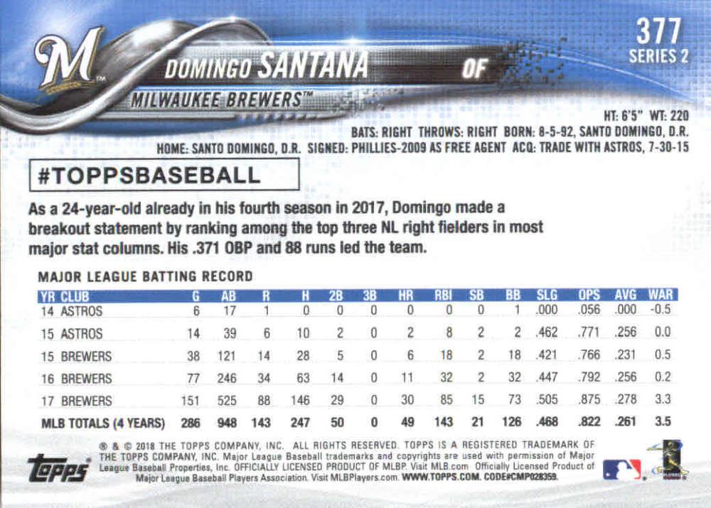 2018-Topps-Series-2-Baseball-Base-Singles-351-550-Pick-Your-Cards thumbnail 53