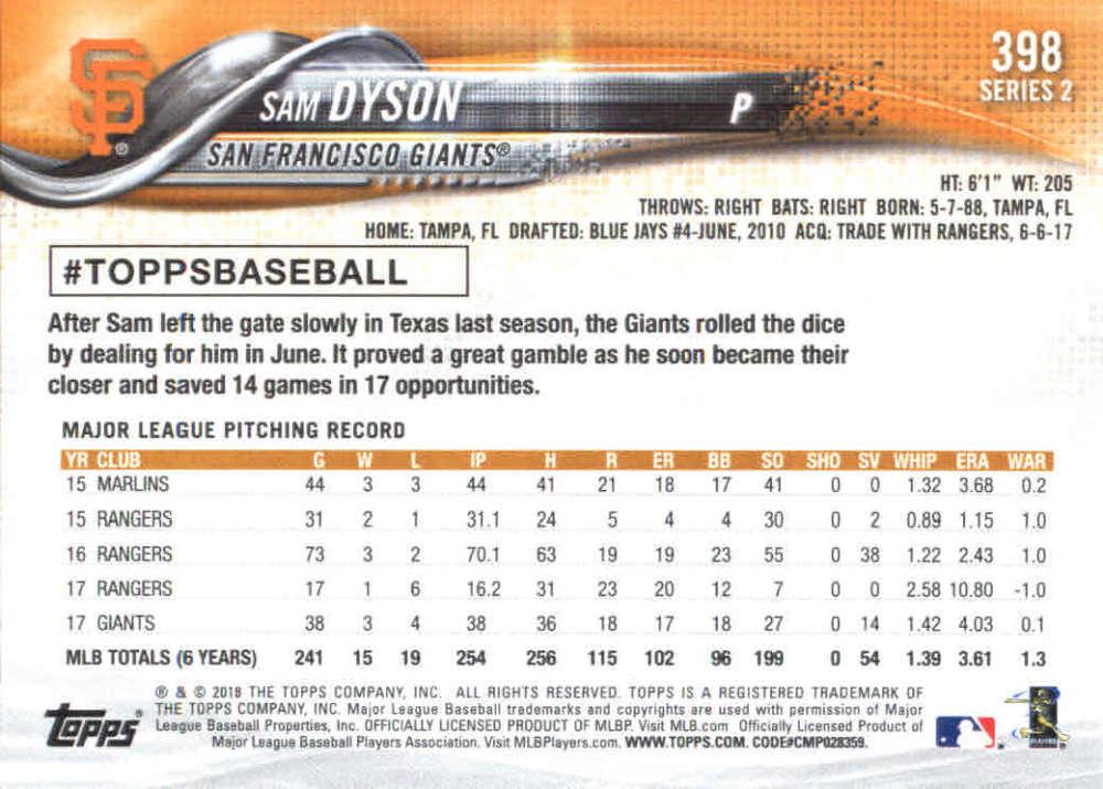 2018-Topps-Series-2-Baseball-Base-Singles-351-550-Pick-Your-Cards thumbnail 95