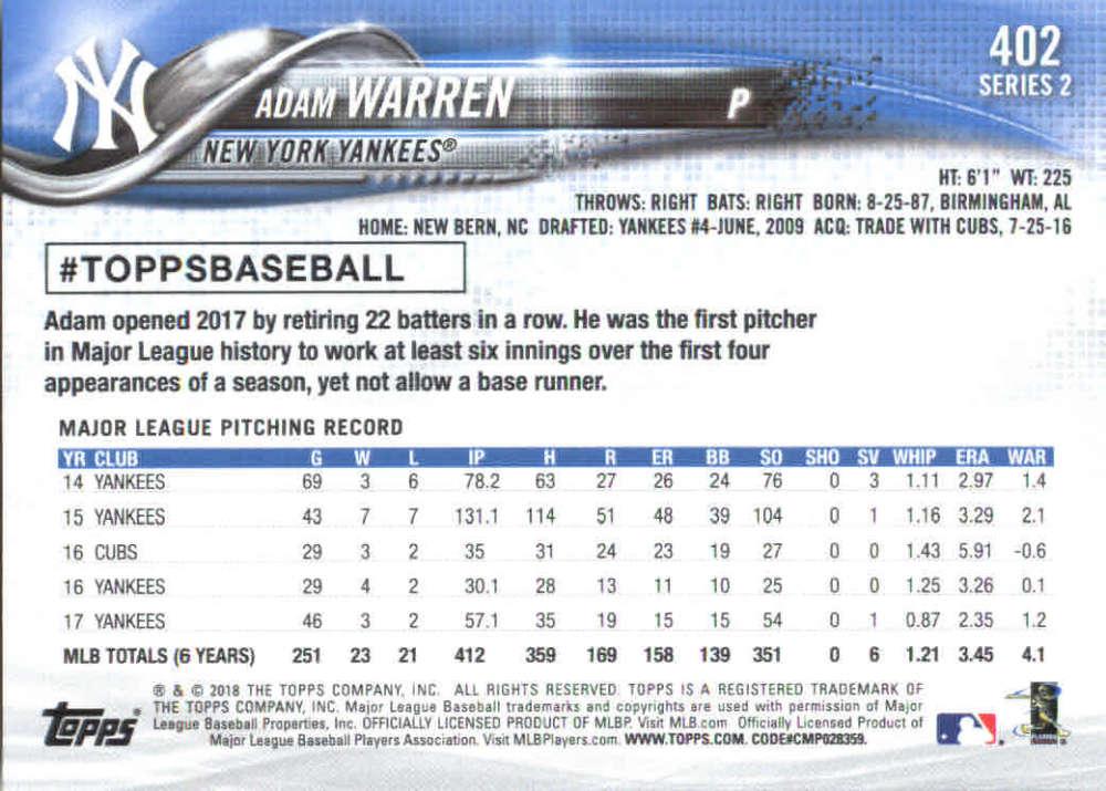 2018-Topps-Series-2-Baseball-Base-Singles-351-550-Pick-Your-Cards thumbnail 103