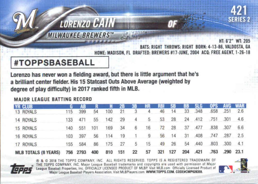 2018-Topps-Series-2-Baseball-Base-Singles-351-550-Pick-Your-Cards thumbnail 141