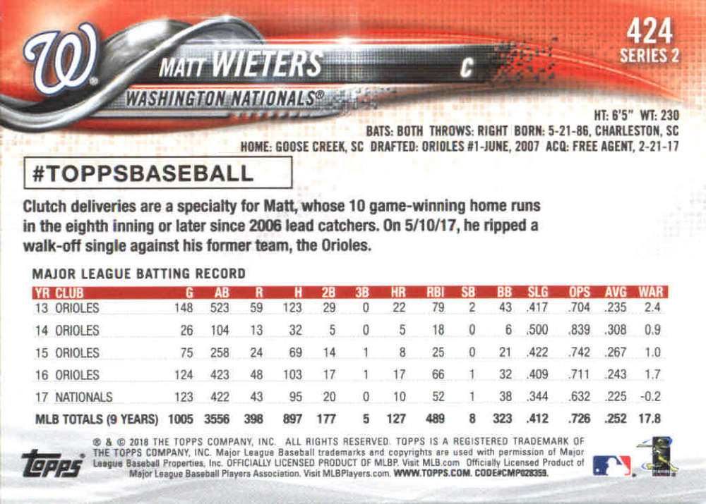 2018-Topps-Series-2-Baseball-Base-Singles-351-550-Pick-Your-Cards thumbnail 147
