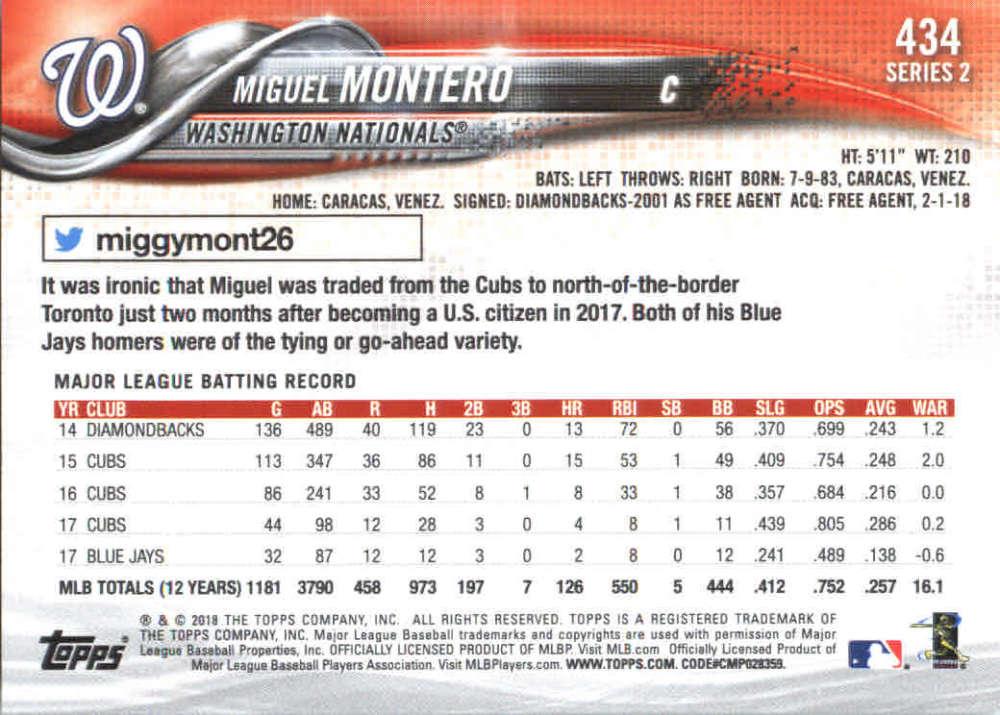 2018-Topps-Series-2-Baseball-Base-Singles-351-550-Pick-Your-Cards thumbnail 167