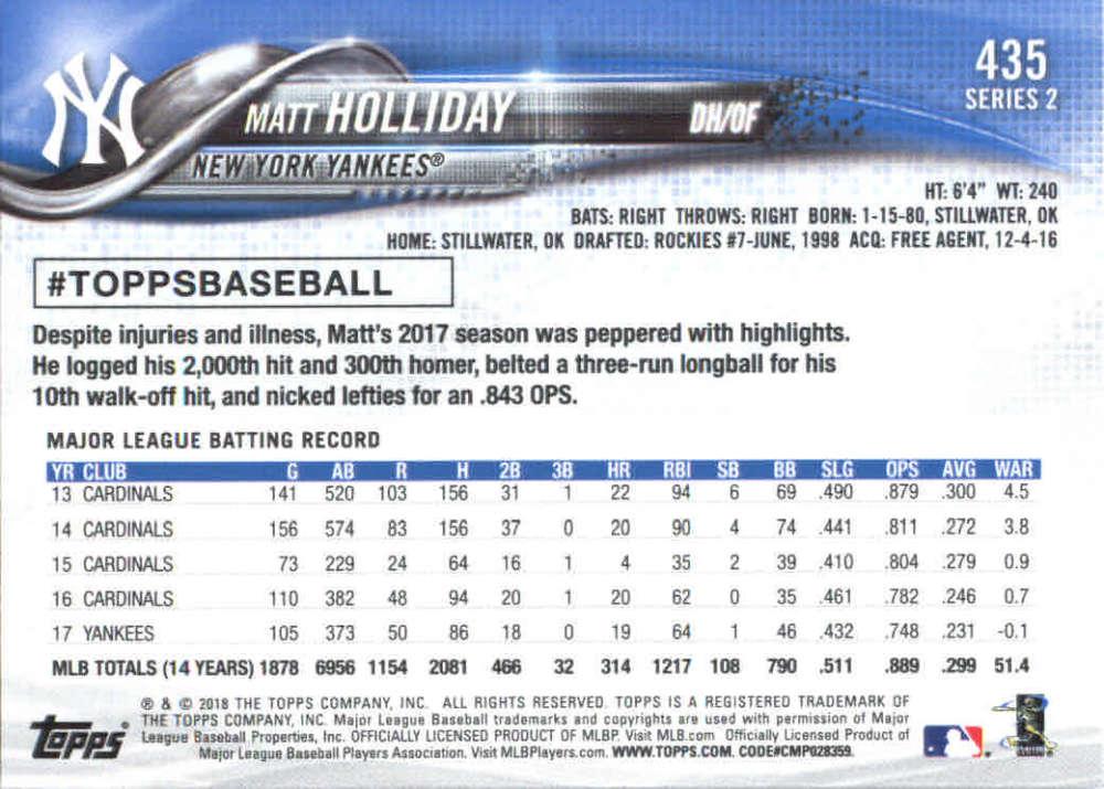 2018-Topps-Series-2-Baseball-Base-Singles-351-550-Pick-Your-Cards thumbnail 169