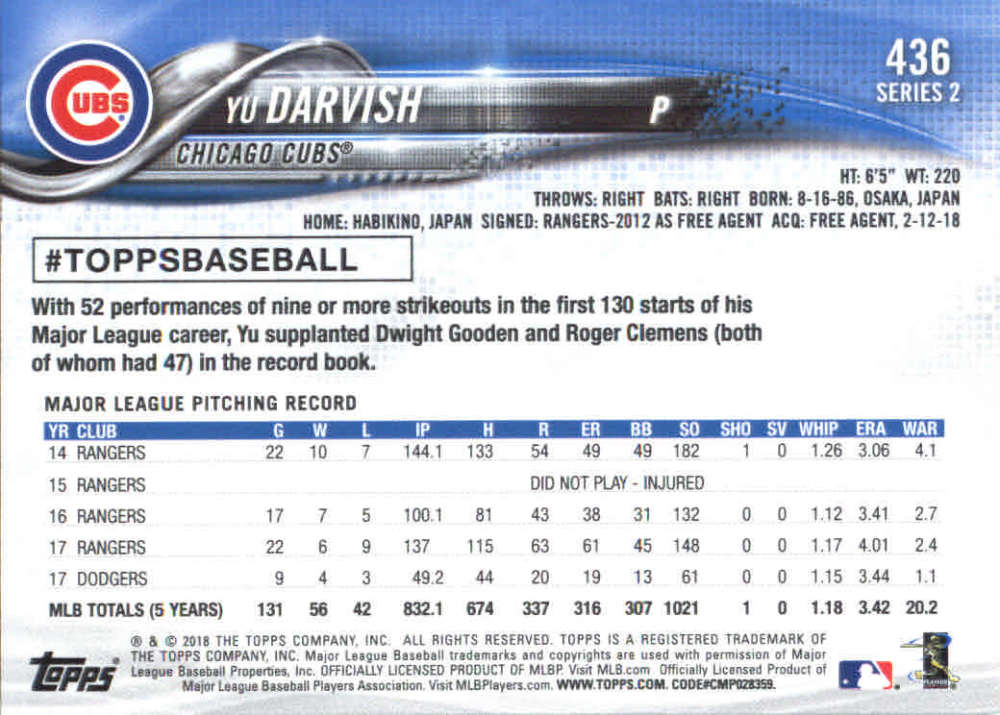 2018-Topps-Series-2-Baseball-Base-Singles-351-550-Pick-Your-Cards thumbnail 171