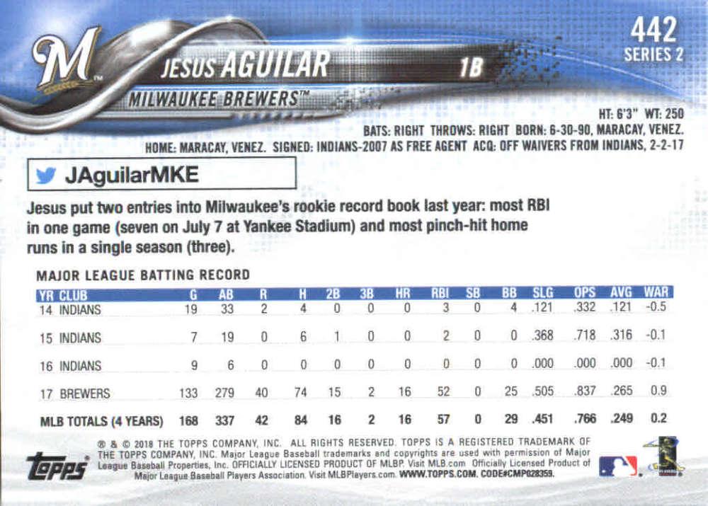 2018-Topps-Series-2-Baseball-Base-Singles-351-550-Pick-Your-Cards thumbnail 183