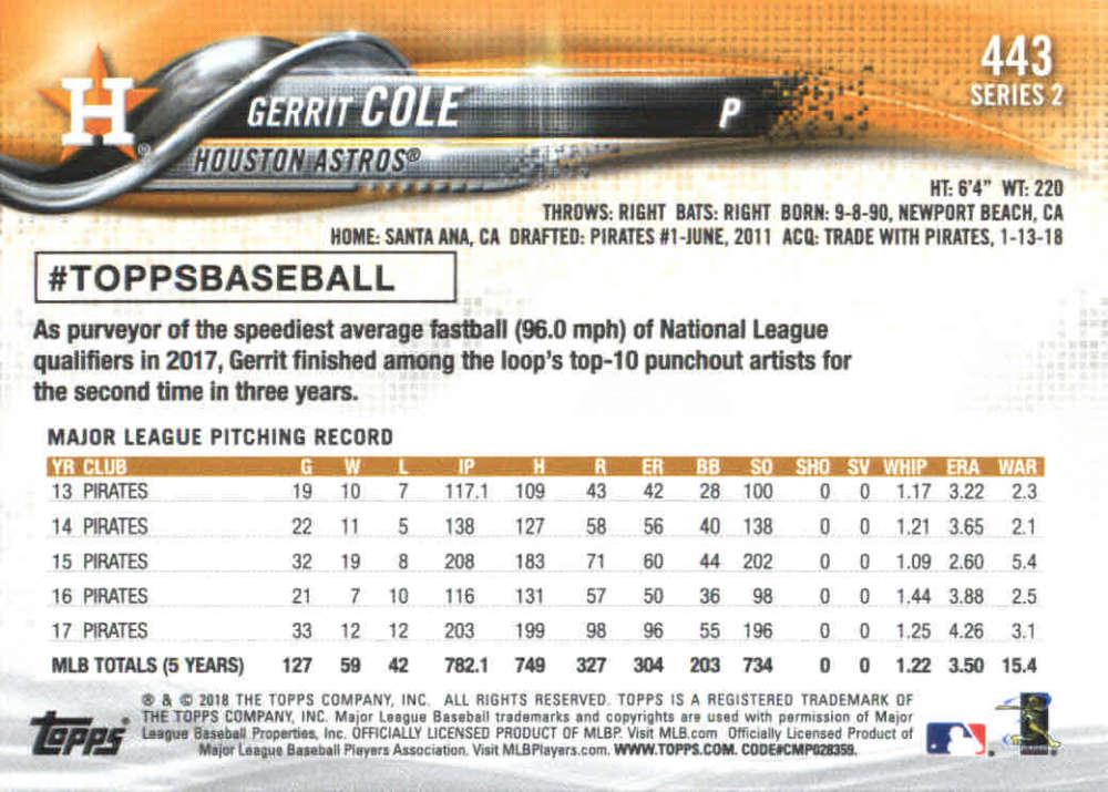 2018-Topps-Series-2-Baseball-Base-Singles-351-550-Pick-Your-Cards thumbnail 185