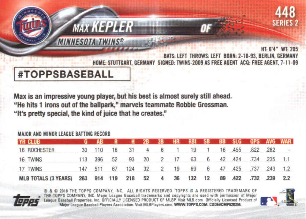 2018-Topps-Series-2-Baseball-Base-Singles-351-550-Pick-Your-Cards thumbnail 195