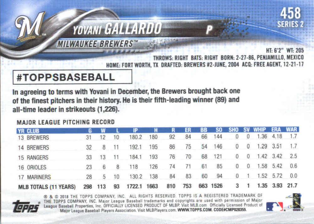 2018-Topps-Series-2-Baseball-Base-Singles-351-550-Pick-Your-Cards thumbnail 215