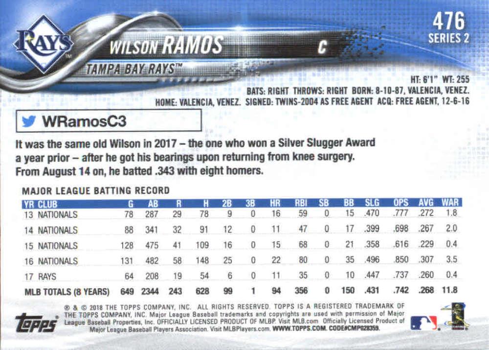 2018-Topps-Series-2-Baseball-Base-Singles-351-550-Pick-Your-Cards thumbnail 249