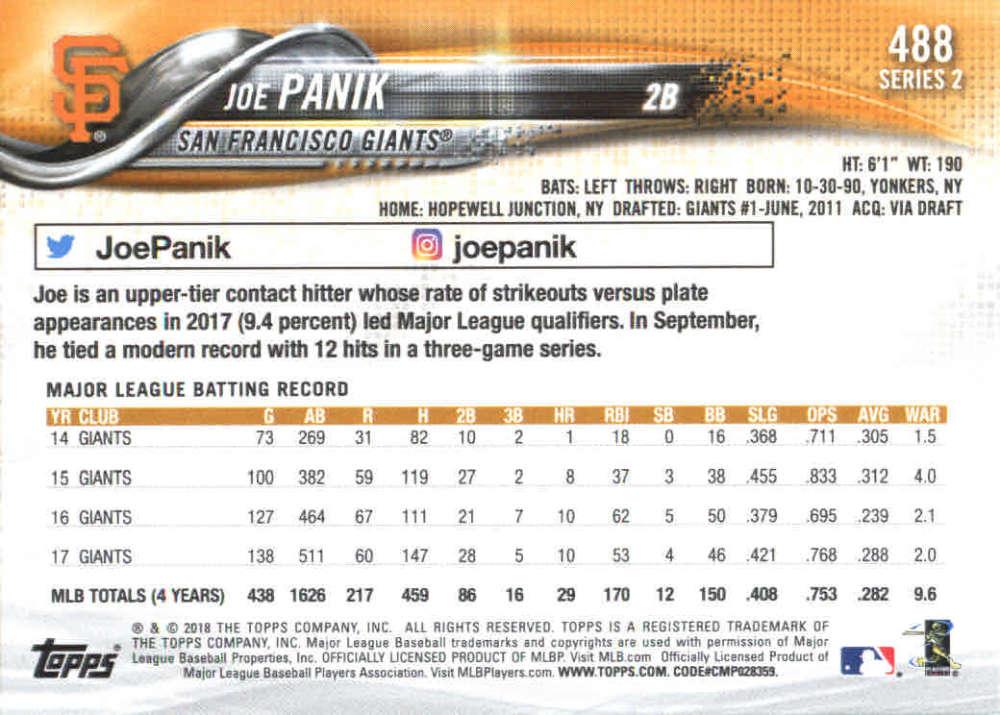 2018-Topps-Series-2-Baseball-Base-Singles-351-550-Pick-Your-Cards thumbnail 273
