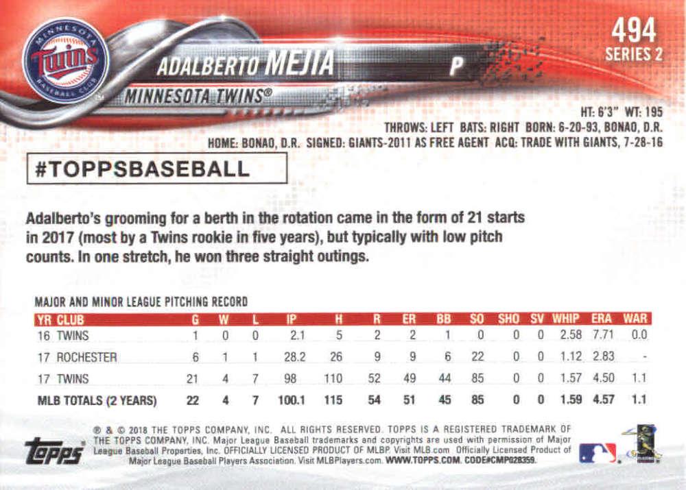 2018-Topps-Series-2-Baseball-Base-Singles-351-550-Pick-Your-Cards thumbnail 285