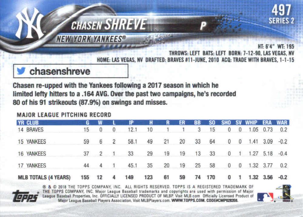 2018-Topps-Series-2-Baseball-Base-Singles-351-550-Pick-Your-Cards thumbnail 289