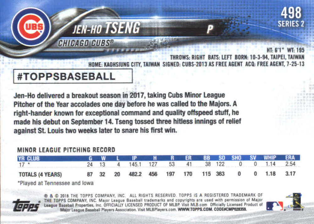 2018-Topps-Series-2-Baseball-Base-Singles-351-550-Pick-Your-Cards thumbnail 291