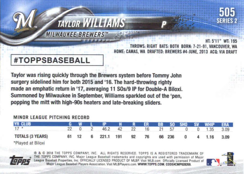 2018-Topps-Series-2-Baseball-Base-Singles-351-550-Pick-Your-Cards thumbnail 303