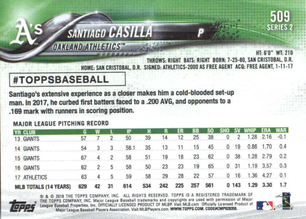 2018-Topps-Series-2-Baseball-Base-Singles-351-550-Pick-Your-Cards thumbnail 311