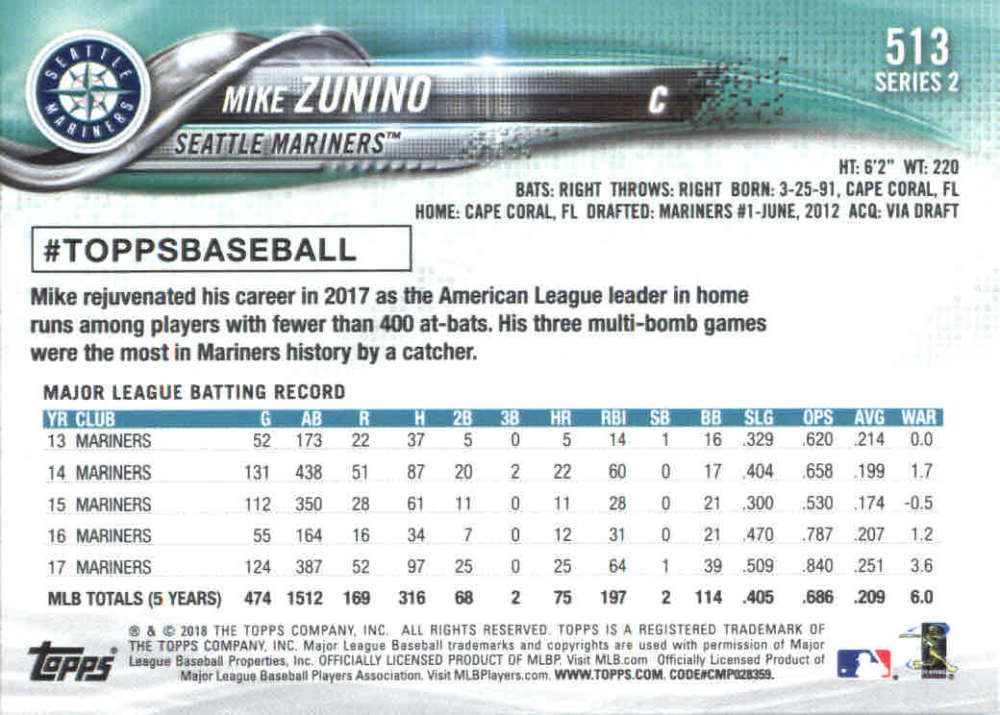 2018-Topps-Series-2-Baseball-Base-Singles-351-550-Pick-Your-Cards thumbnail 319