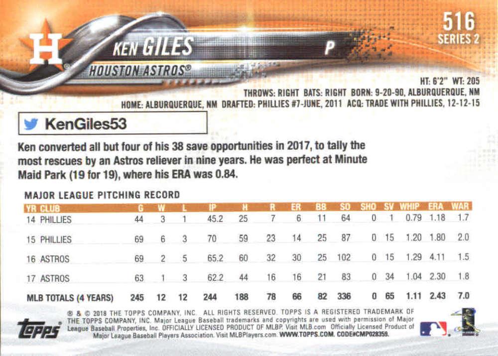 2018-Topps-Series-2-Baseball-Base-Singles-351-550-Pick-Your-Cards thumbnail 325