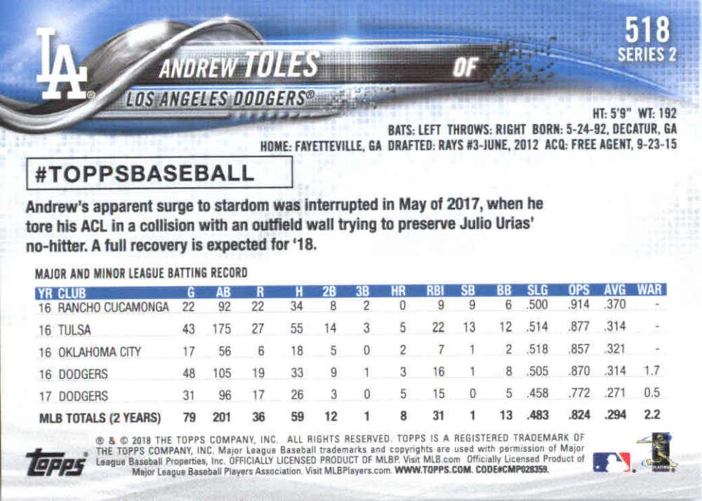 2018-Topps-Series-2-Baseball-Base-Singles-351-550-Pick-Your-Cards thumbnail 329