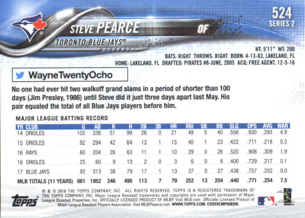 2018-Topps-Series-2-Baseball-Base-Singles-351-550-Pick-Your-Cards thumbnail 341
