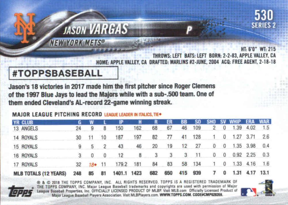 2018-Topps-Series-2-Baseball-Base-Singles-351-550-Pick-Your-Cards thumbnail 353