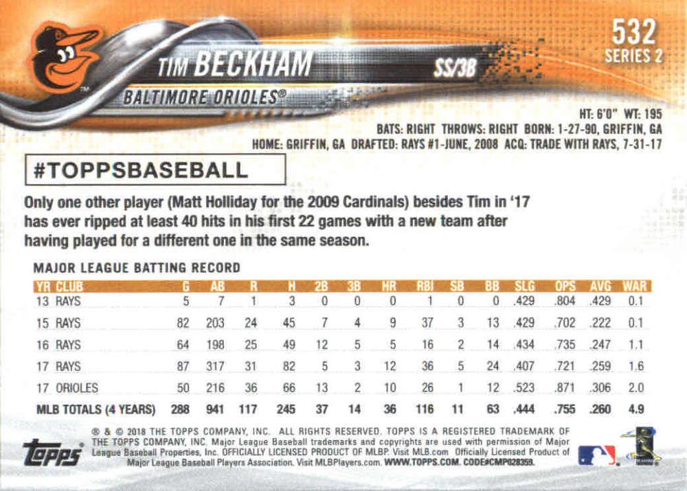 2018-Topps-Series-2-Baseball-Base-Singles-351-550-Pick-Your-Cards thumbnail 357