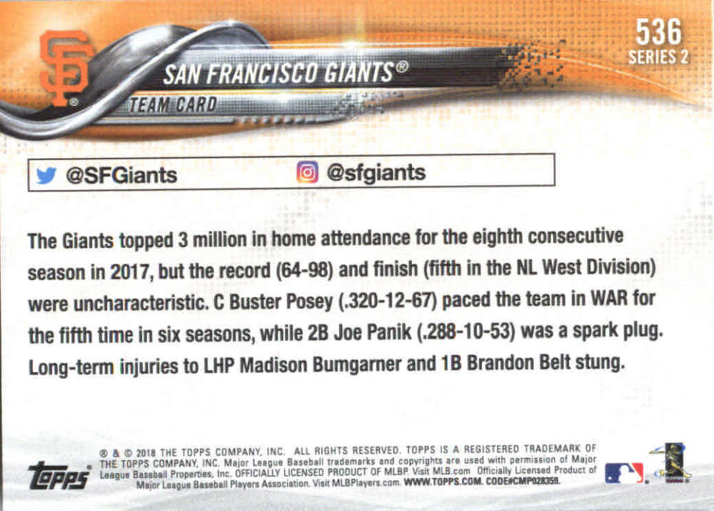 2018-Topps-Series-2-Baseball-Base-Singles-351-550-Pick-Your-Cards thumbnail 365