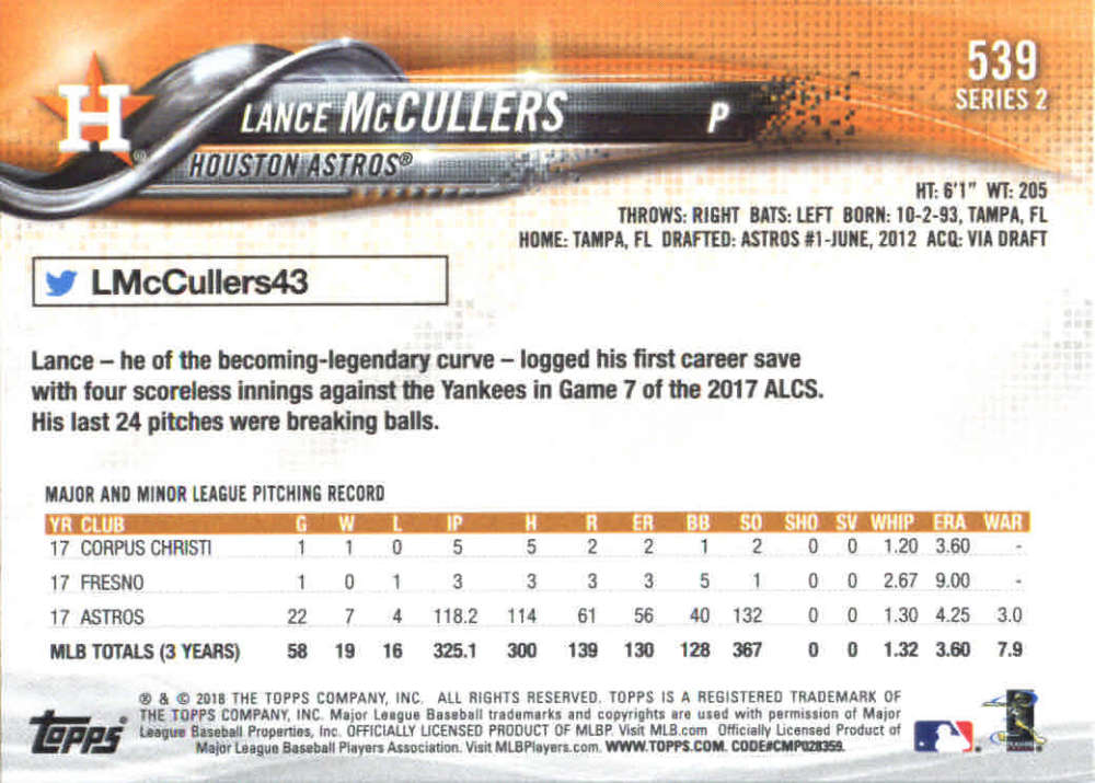 2018-Topps-Series-2-Baseball-Base-Singles-351-550-Pick-Your-Cards thumbnail 371
