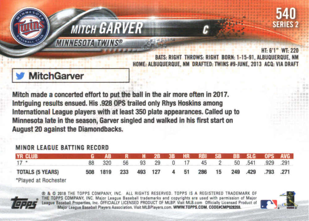 2018-Topps-Series-2-Baseball-Base-Singles-351-550-Pick-Your-Cards thumbnail 373