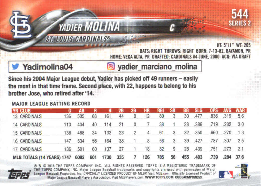 2018-Topps-Series-2-Baseball-Base-Singles-351-550-Pick-Your-Cards thumbnail 381