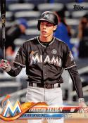 2018 Topps #170 Christian Yelich Miami Marlins