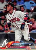 2018 Topps #276 Ozzie Albies NM RC Rookie