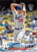 2018 Topps #338 Brandon McCarthy Los Angeles Dodgers