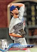 2018 Topps #350 Clayton Kershaw Los Angeles Dodgers